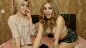 Aubre Love lebian lesbians teasing babe