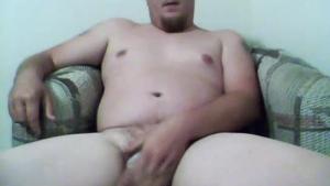 A man with a huge cock gets a deep rim job