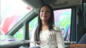 Nextdoor teen gets nailed by stranger
