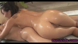 Asian darling with long hair, Asa Akira is squeezing her big tits while getting fucked hard